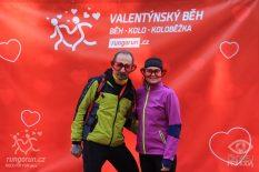 Valentýnský běh 14.2. 2016